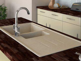 гранитна мивка за вграждане